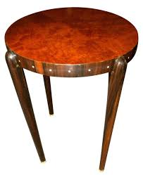 furniture art deco style. Ruhlmann Style Custom Art Deco Side Table Furniture