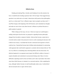 study guide on plato s apology reflective essay