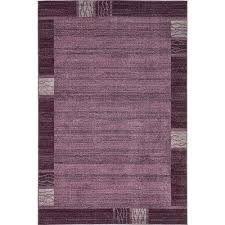 del mar sarah purple 6 0 x 9 0 area rug