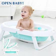infant bathtub foldable bb baby folding tub children bath bucket large size can zuo tang portable