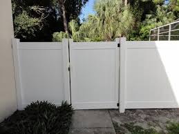 vinyl fence double gate. Image Of: Vinyl Fence Gate Picture Double