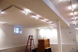basement lighting. Unfinished Basement Track Lighting B