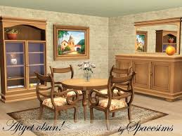 mid century modern dining and style set sims 3 download. this traditional dining room made of quality woods is the perfect choice for sims who don\u0027t really like modern style. found in tsr category \u0027sims 3 mid century and style set download