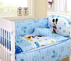 mickey mouse crib sheet set mickey mouse baby bett set dibinekadar decoration