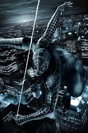 71 black spiderman wallpaper on
