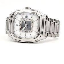 mens david yurman watch authentic david yurman thoroughbred dual time gmt stainless men s watch