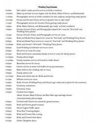 wedding reception agenda template wedding reception program sample templates sample wedding