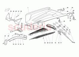 engine hood for lamborghini murcielago lp640 roadster scuderia enlarge diagram · Â