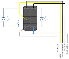 arb rocker switch wiring diagram wirdig rocker switch wiring diagram 7 pin further light switch wiring diagram
