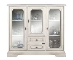 wooden display cabinet white dining cabinet glass doors and drawers living room