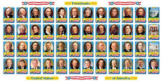 Us Presidents Chart Trend Enterprises U S Presidents Bulletin Board Set