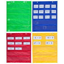 Magnetic Pocket Chart Squares Set Of 4 Elizabeth