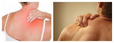 right shoulder blade muscle pain relief