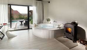 Bathroom With Hot Tub Interior Cool Decorating Ideas
