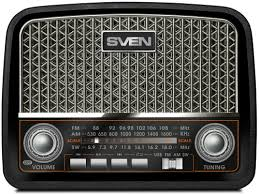 <b>Радиоприемник SRP</b>-<b>555</b> Black Silver - купить радио <b>Sven</b> SRP ...