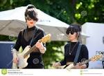 Frauen rock band
