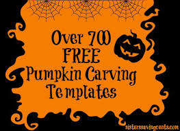 pumpkin carving patterns free sisters saving cents over 700 free pumpkin stencils including