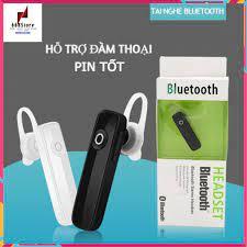 Tai nghe bluetooth, tai nghe không dây M165 hỗ trợ đàm thoại giá rẻ - Tai  nghe Bluetooth nhét Tai Nhãn hiệu No Brand