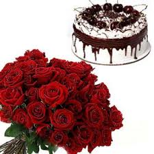 Happy Birthday Cake And Flower Buy Happy Birthday Cake And Flower