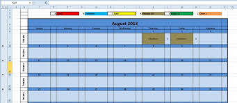 Printable Monthly Calendar 2016 Excel Template | Monthly planner ...