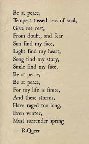 Inner Peace Quotes Adorable Peace Poems