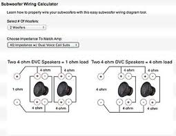 2 dual ohm wiring car wiring diagram download cancross co Dvc Sub Wiring Diagram wiring diagram 2 ohm dual voice coil sub wiring diagram 2 dual ohm wiring subwoofer wiring diagrams mk7s stereo upgrade archive fiesta 2 ohm dvc subwoofer wiring diagram