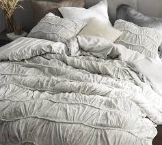 oversized queen duvet cover motley texture xl light gray covers set 90 x 98