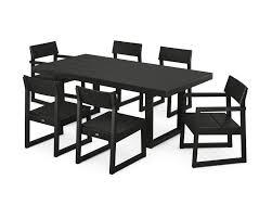 polywood edge 7 piece dining set