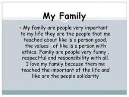 essay on i love my family my family kidsessays com my family essays simple speeches
