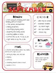 Monthly Newsletter Template For Teachers Monthly Class Newsletter Templates By Mrs Riccas Kindergarten Tpt