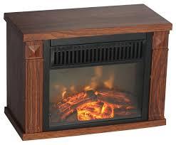 comfort glow bookshelf mini fireplace wood grain