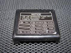 89 90 91 92 93 94 nissan 240sx oem interior fuse box cover gray Interior Fuse Box Cover Lower 91 92 93 94 95 toyota mr2 oem interior fuse box cover Electrical Fuse Box