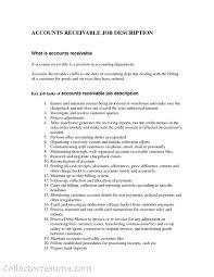 Account Payable Responsibilities Yun56 Co Receivable Resume Sample