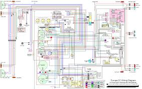 colorized wiring diagrams on lotus europa org s2 federal wiring diagram