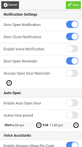 remote settings alert push notifications user settingore are all controlled via