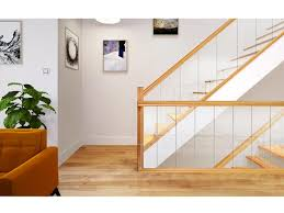 glass stairs with oak george quinn stair parts