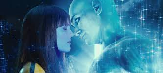 watchmen s legacy after 7 years 2 avengers films silk spectre and dr manhattan about to kiss