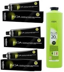 Inoa Hair Color Shades Chart India Loreal Professionnel Inoa Tube No 6 3 With Developer 20vol
