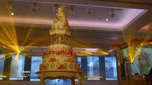 Extreme Cake Makers Super Tall Wedding Cake Youtube