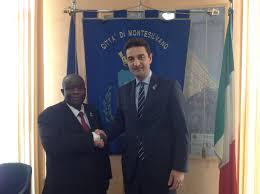 SITO UFFICIALE DEL COMUNE DI MONTESILVANO (PE) - Visita a Montesilvano dell' Ambasciatore della Repubblica Democratica del Congo