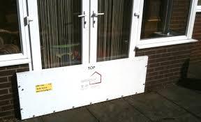 garage door flood barrier wageuzi