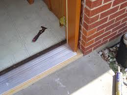 front door thresholdExterior Door Installation Preparing The Doorway For A New Door