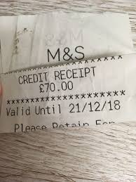 marks and spencer gift card 50 00 43 00 pic uk