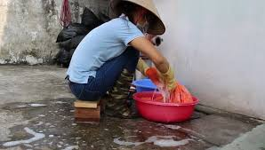 woman washing clothes by hand. Simple Hand Hanoi Vietnam  14 September Stock Footage Video 100 Royaltyfree  12725213  Shutterstock And Woman Washing Clothes By Hand G