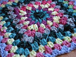 patterns the sunroom shabby chic vintage style granny square rag rug