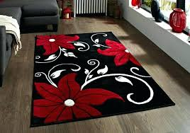red black gray rug baby nursery appealing factory plus hand tufted area grey and striped rugby shirt