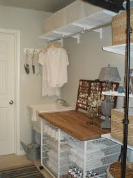 Very Small Laundry Room Laundry Room Hanging Rod Ideas