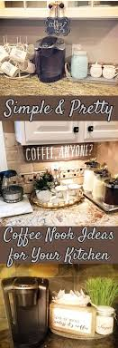Best 25+ Kitchen coffee bars ideas on Pinterest | Coffee nook ...