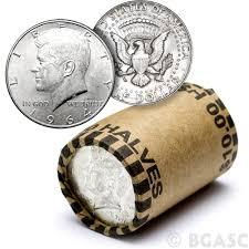 90 Silver Kennedy Half Dollar Roll 20 Coins 90 Percent Silver