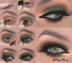 eco friendly gold smokey eye makeup st patrick s day makeup